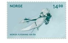 Norway Aviation Stamp